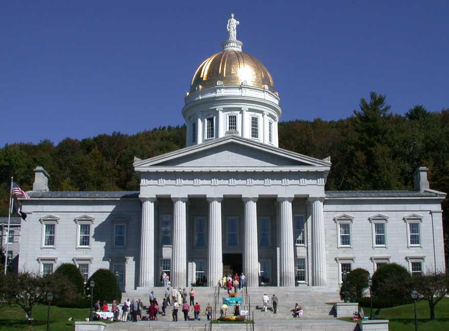 Vermont State House building Jay Peak EB-5 scandal